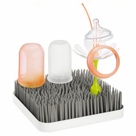 Suport uscare accesorii bebelus, GRASS, gri, BOON
