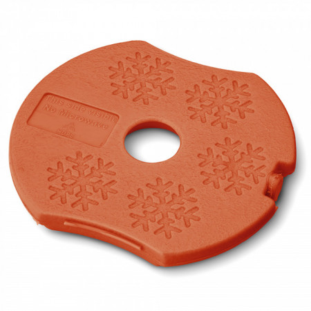 Caserola compartimentata N'Ice Box cu disc racire, Carl Oscar, 0.3l, orange