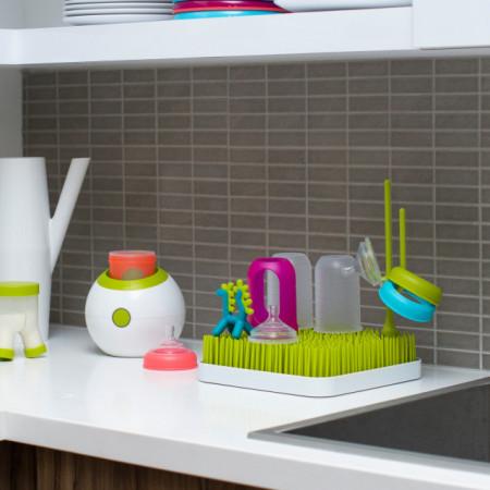 Suport uscare accesorii bebelus, GRASS, alb, de la BOON