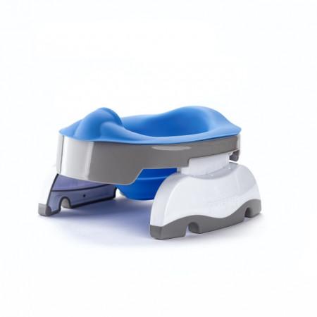 Liner reutilizabil silicon albastru pentru oliță portabilă Potette Plus și Potette Premium 1