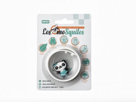 Los moSquitos - bratara aromatizata de silicon cu animal decorativ, masura reglabila de la XS la XL