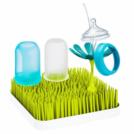 Boon, suport uscat accesorii bebelus, Grass, verde, nu contine ftalati