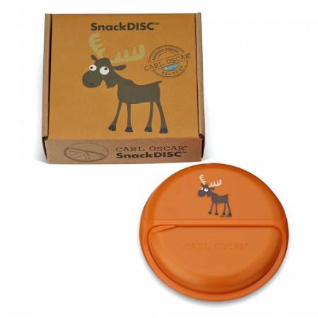 Caserola compartimentata SnackDISC, Carl Oscar, orange
