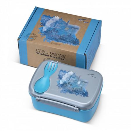 Caserola cu pastila racire Wisdom N'Ice Box, Carl Oscar, bleu