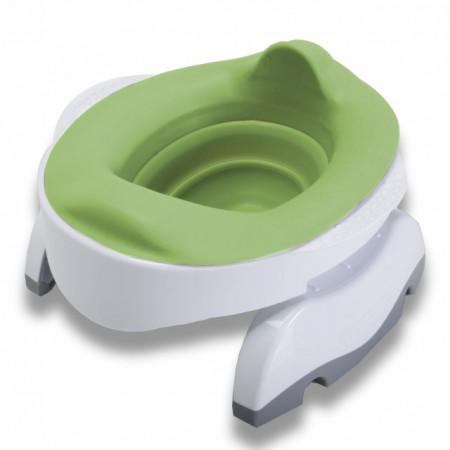 Liner reutilizabil silicon verde pentru olita portabila Potette Plus și Potette Premium 9