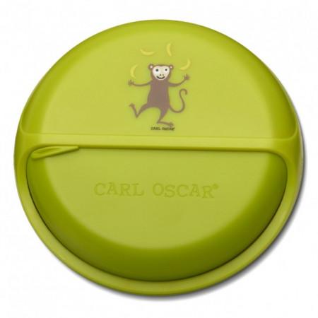 Caserola compartimentata BentoDISC, Carl Oscar, lime