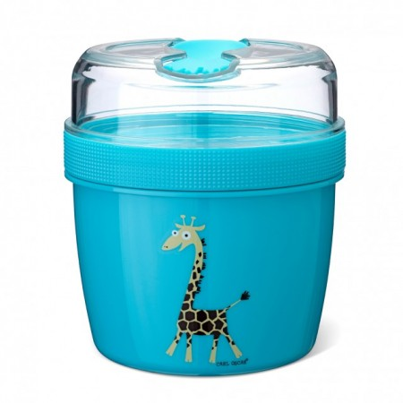 Caserola compartimentata N'Ice Box cu disc racire, Carl Oscar, bleu