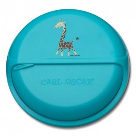 Caserola compartimentata SnackDISC, Carl Oscar, bleu