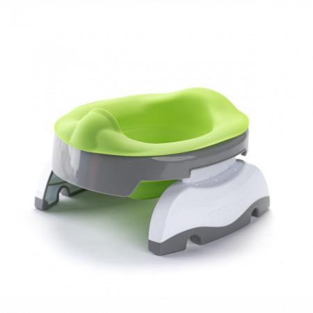 Liner reutilizabil silicon verde pentru olita portabila Potette Plus și Potette Premium 3