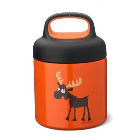 CARL OSCAR Termos pentru mancare 300 ml orange