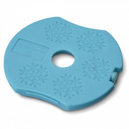 Caserola compartimentata N'Ice Box cu disc racire, Carl Oscar, 0.3l, blue