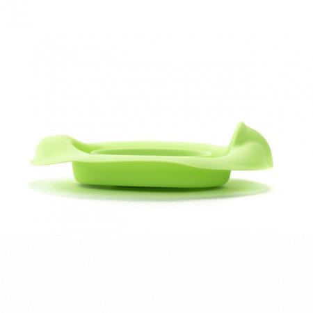 Liner reutilizabil silicon verde pentru olita portabila Potette Plus și Potette Premium 2