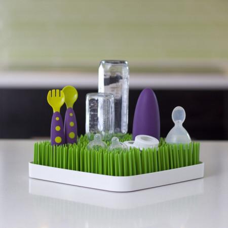 PACHET PROMO: Tava GRASS - suport pentru uscat (verde) + STEM - accesoriu pentru uscare (mov) + TWIG - accesoriu pentru uscare (gri)