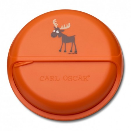 CARL OSCAR - caserola compartimentata SnackDISC™ orange