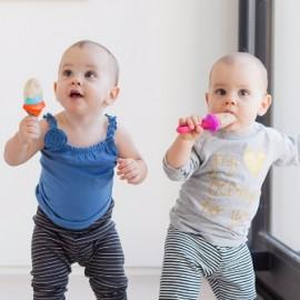 Tacâm bebeluș, BOON, PULP - hranire bebe, silicon, navy