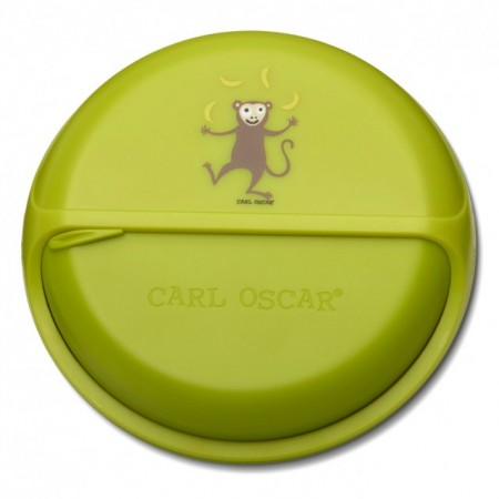 CARL OSCAR - caserola compartimentata SnackDISC™ lime