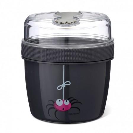 CARL OSCAR N'Ice Cup™ L 0.6 l caserola compartimentata cu disc de racire culoare gri