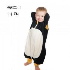 Sac de dormit cu picioare Penguin Bag, model Pinguin, tog 1, 2-4 ani (87-110 cm)