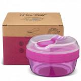 Caserola compartimentata N'Ice Box cu disc racire, Carl Oscar, 0.3l, mov