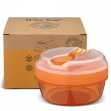 Caserola compartimentata N'Ice Box cu disc racire, Carl Oscar, 0.3l, orange