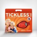 TICKLESS Kid Anti capuse - Repelent ultrasonic anticapuse pentru copii 3-10 ani - culoare: orange
