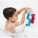 Boon, Jucărie de baie bebeluș, set 3 piese: Pipes + Tubes, nu contine ftalati