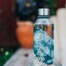 CARL OSCAR sticla din Tritan™ WisdomFlask gri