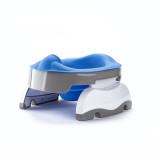 Liner reutilizabil silicon albastru pentru oliță portabilă Potette Plus și Potette Premium