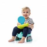 Oliță portabilă pliabilă 2 în 1 Potette Plus Premium culoare turquoise copil