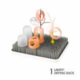 Suport pentru uscat accesorii bebelus, LAWN gri, de la BOON