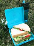 Caserola sandwich, Carl Oscar, culoarea bleu