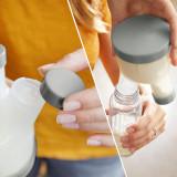 BOON - TRIPOD - cutie dozator pentru formula de lapte praf culoare gri