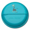 CARL OSCAR - caserola compartimentata SnackDISC™ bleu