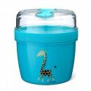 CARL OSCAR N'Ice Cup™ L 0.6 l caserola compartimentata cu disc de racire culoare bleu