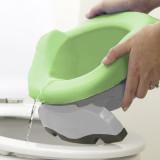 Potette Plus, Liner reutilizabil pentru olita portabila, silicon, verde