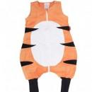 Sac de dormit cu picioare Penguin Bag, model Tigru, tog 1, 2-4 ani (87-110 cm)