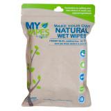 Șervețele 100% naturale, neparfumate umede/uscate - My Wipes by Potette Plus