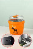 Caserola compartimentata N'Ice Box cu disc racire, Carl Oscar, mov