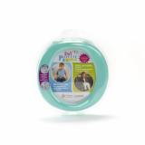 Oliță portabilă pliabilă 2 în 1 Potette Plus culoare turquoise fata