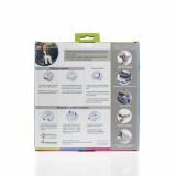 Potette Plus, Pachet Olita portabila, liner, 10 pungi biodegradabile, 700g, 14 luni+, roz+alb