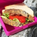 Caserola sandwich, Carl Oscar, culoarea mov