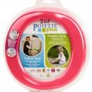 2 in 1 Potette Plus - olita portabila si reductor culoarea roz