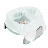 PACHET ECONOMIC VERNIL Potette Plus: olita portabila + liner reutilizabil + 10 pungi biodegradabile