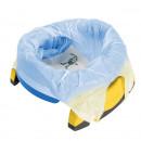 PACHET PROMO - Olita portabila culoarea albastra Potette Plus + Pungi biodegradabile de unica folosinta - 30 buc/set