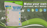 Șervețele 100% naturale, neparfumate umede/uscate - My Wipes by Potette Plus