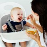 Boon, Tacâm bebeluș, set Swap lingurita 2 in 1, gri+teal, nu contine ftalati