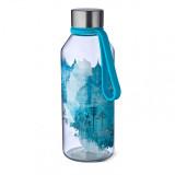 CARL OSCAR sticla din Tritan™ WisdomFlask bleu
