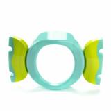 Oliță portabilă pliabilă 2 în 1 Potette Plus culoare turquoise sus