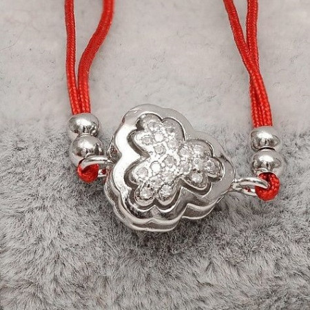 Bratara Snur ---TRIFOI--- Argint Cu Pietre ARG94
