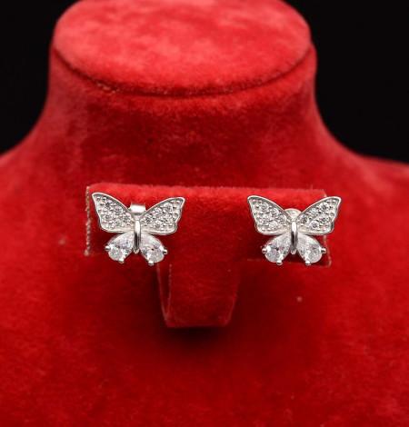 Cercei Din Argint - Elegant Butterfly - cod ARG358
